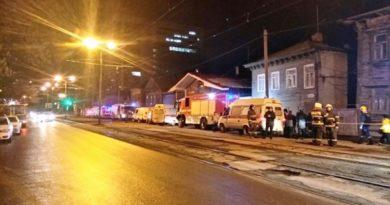 Обрушение несущей стены двухэтажного дома на Арцыбушевской