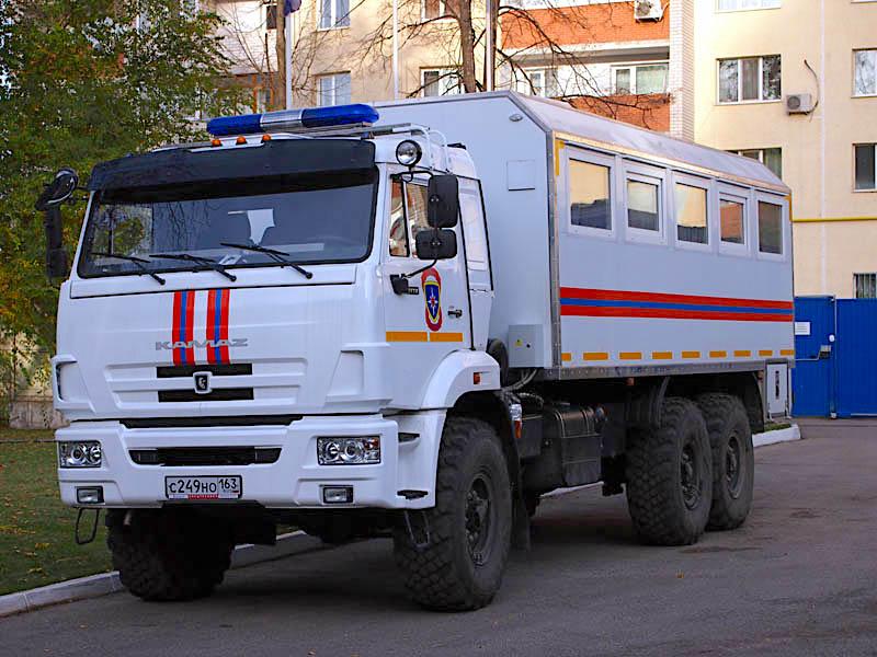 Аварийно-спасательный автомобиль КАМАЗ