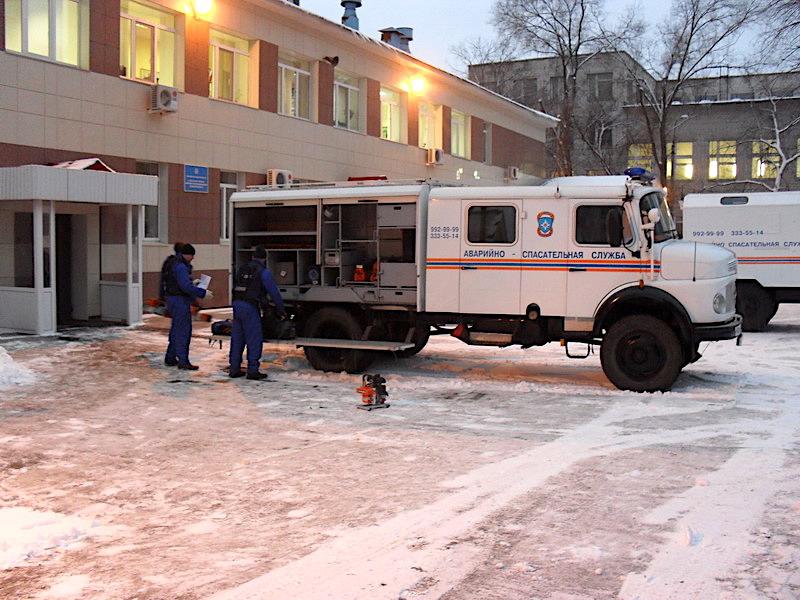 Аварийно-спасательный автомобиль Mersedes Benz