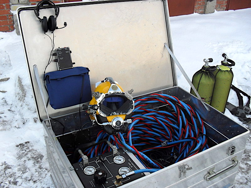 Водолазная станция быстрого развертывания ВСБР-2
