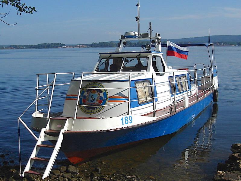 Водолазный катер КС-110