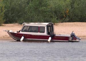 Водометный катер WOOLDRIDGE