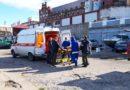 Эвакуация женщины с инсультом из Рождествено