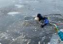 Водолазные поиски на озере Грязный Ерик