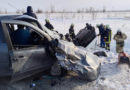 Спасательные работы на месте ДТП в Волжском районе