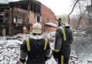 Аварийно-спасательные работы на месте обрушения стены жилого здания