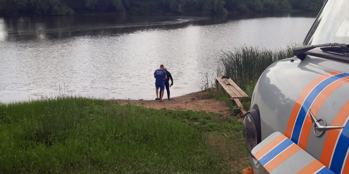 В водоеме поселка Просвет утонул мужчина