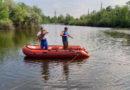 Водолазные поиски на озере около с. Лопатино