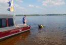 Водолазные поиски на Первомайском спуске реки Волга