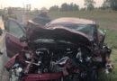 Аварийно-спасательные работы на месте ДТП в Сызранском районе