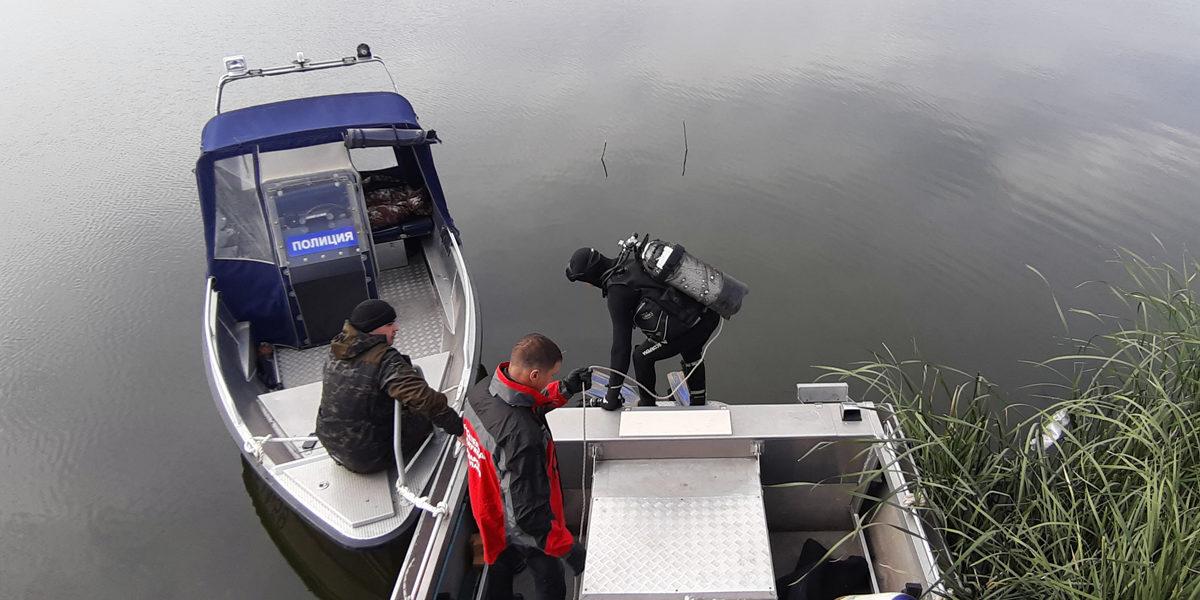 Поиски утонувшего рыбака на реке Самара