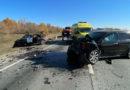 Три человека погибли в лобовом столкновении на трассе 36К-614