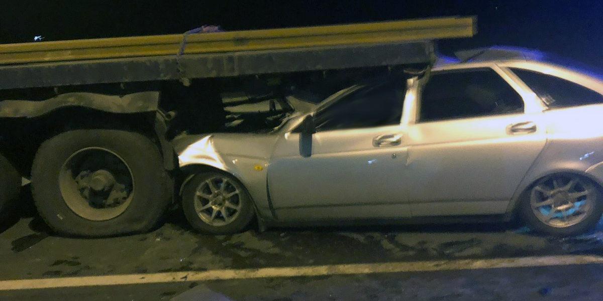 В ДТП на 888 км. М-5 погиб водитель легкового автомобиля