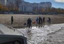 Водолазные поиски на набережной реки Волга